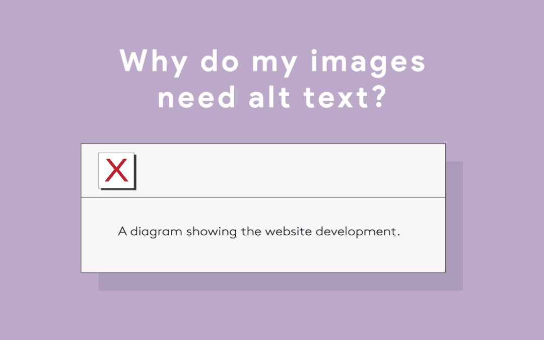 Why do my images need alt text?